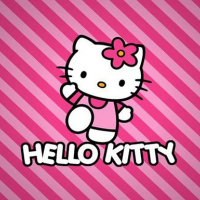 BTS Hello Kitty Coloring