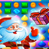 Santa Crush Candy World Match 3